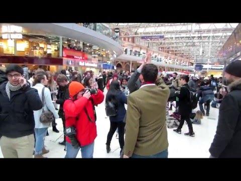 Waterloo Flash Mob