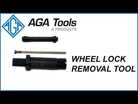 AGA Tools & Products - Wheel Lock Removal Tool