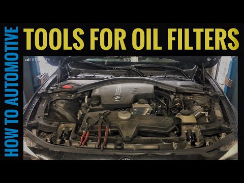 How to Change the Oil Filter on a BMW and What Tools You Will Need