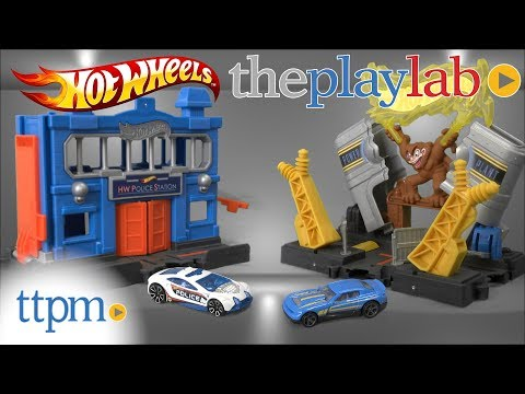 Play Lab | Hot Wheels City Playsets from Mattel