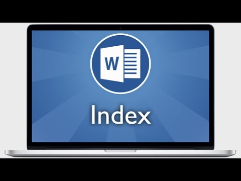 Tutoriel Word 2013 - Créer un index et ajouter des mots à un index