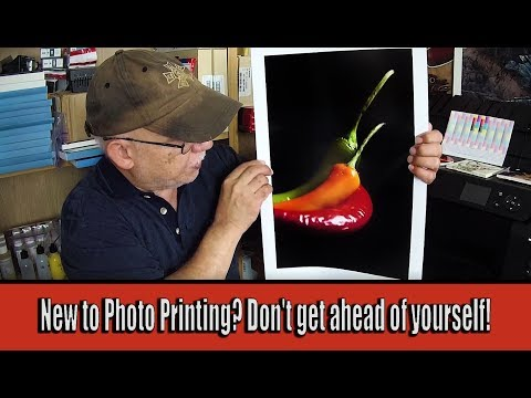 New to Photo Printing? Don't get ahead of yourself!