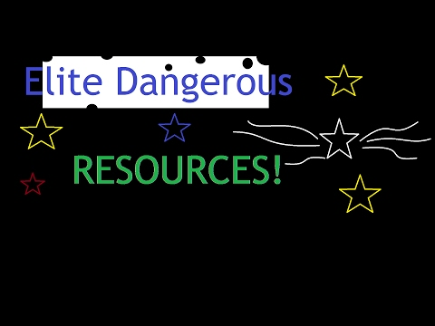Elite Dangerous websites and tools for finding resources