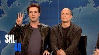 Weekend Update: Matthew McConaughey and Woody Harrelson - Saturday Night Live