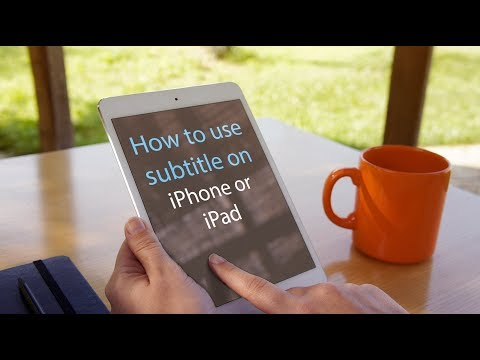 How to USE SUBTITLE ON iPhone or iPad #Technology