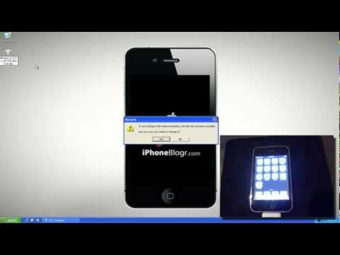 How to enter iPhone or iPod DFU mode without a working Home or Power button