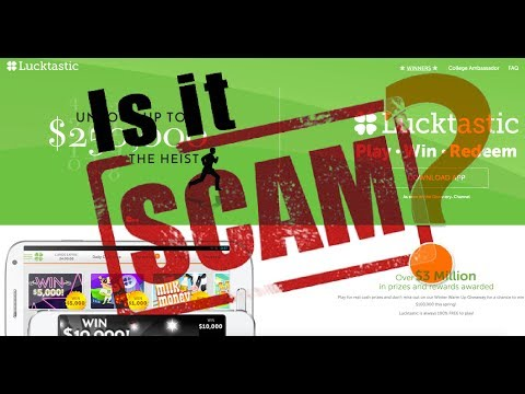 Is Lucktastic a Scam❓