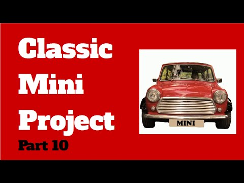 Classic Mini Project Vid 10 Wrong Arches And Fitting New Parts
