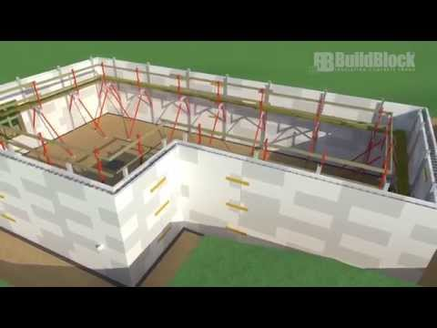 Building a BuildBlock ICF Basement