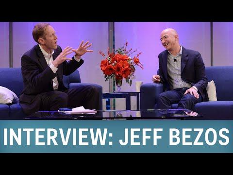 Interview: Amazon CEO Jeff Bezos
