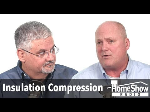 What would happen if I compressed my attic insulation?