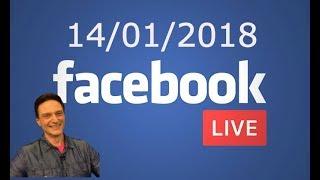 Daniel Mastral - LIVE no Facebook  do 14/01/2018