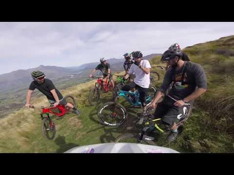 Trail riding heaven! 40 min descent! Corotown Trail NZ