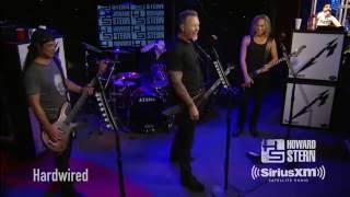 """Metallica """"Hardwired"""" Live on the Howard Stern Show"""