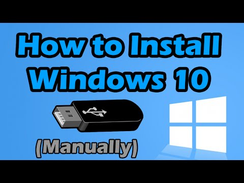 How to install Windows 10 from USB