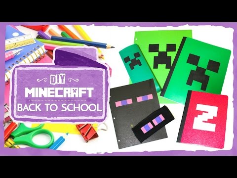 Minecraft: Back to School (DIY)