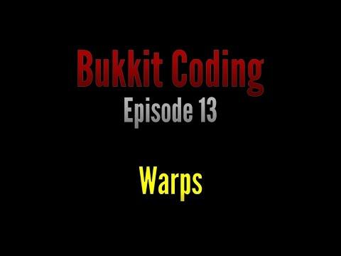 Bukkit Coding 1.11 | Episode 13 - Warps
