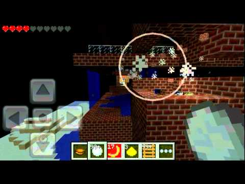 Minecraft PE mod's: flyin survival e snowballs.