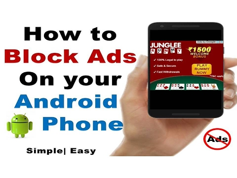 [Hindi] How to remove Ads from your Android phone   No App Installation   Block Popup Ads