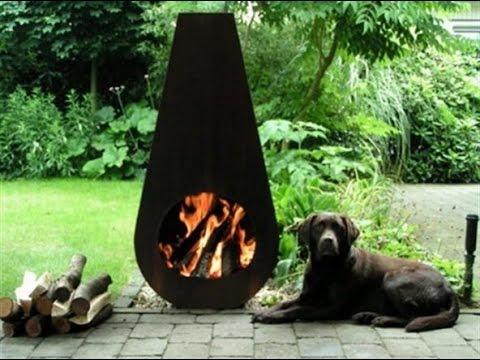 Metal Outdoor Fireplaces