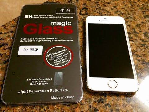 Iphone 5/5s Tempered Glass Screen Protector for $3.59 Review