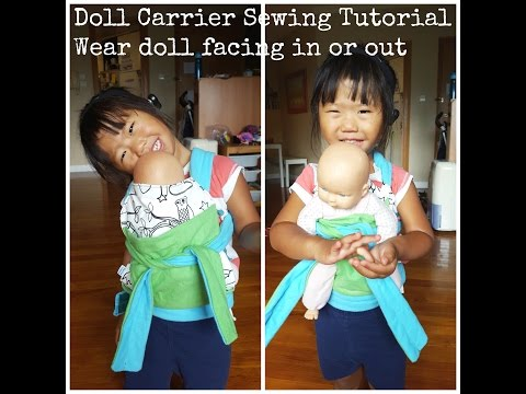 How To Sew A Baby Sling Doll Carrier Pattern Free