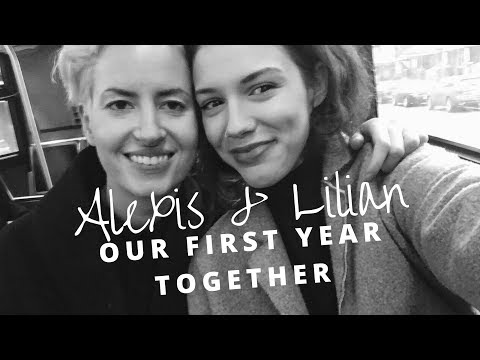Our First Year Together ❤️| Lesbian Couple Cute Moments