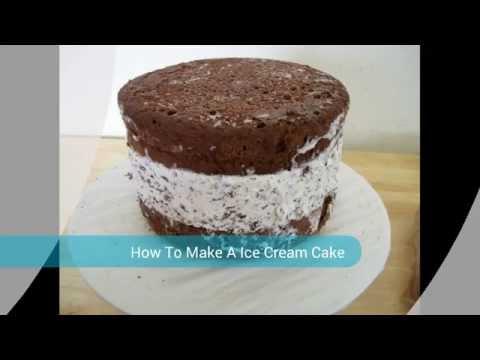 Home made A Ice Cream Cake