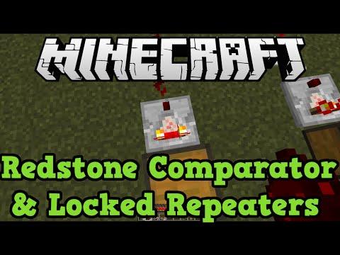 Minecraft Xbox 360 + PS3: Redstone Comparators + Locked Repeaters