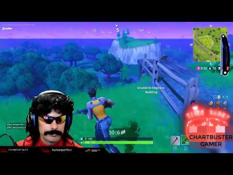 FORTNIGHT AMAZING DAILY MOMENT 2 dr. Disrespect wtf moment kill in single shot