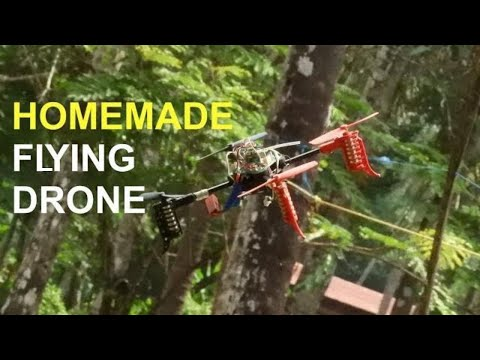 how to make a drone at home|| helicopter drone||