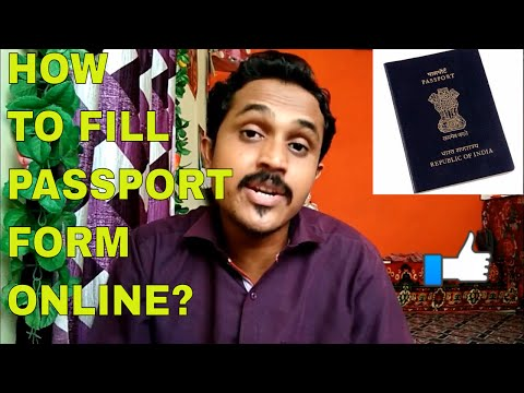 HOW TO FILL ONLINE APPLICATION FORM FOR PASSPORT?FULL INFOMATION!!(HINDI 2017)
