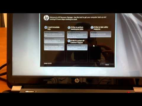 How to Restore HP Laptop to Clean Windows Install without Disks