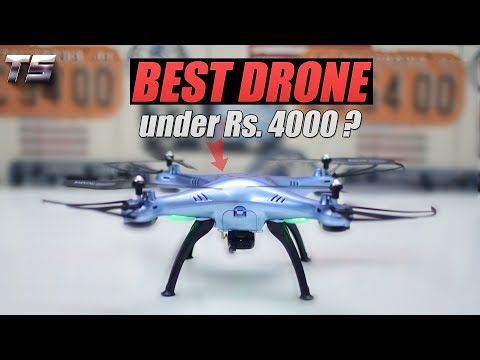 Syma X5HW Unboxing | Best Drone Under 4000 Rupees in India ? / Best Drone under $60 ?!!