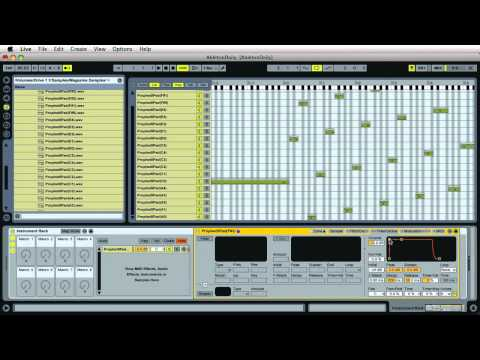 #16 Multi Samples :: Ableton Live