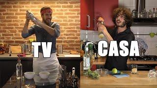 CUCINA in TV vs CUCINA a CASA [APERITIVO EDITION]