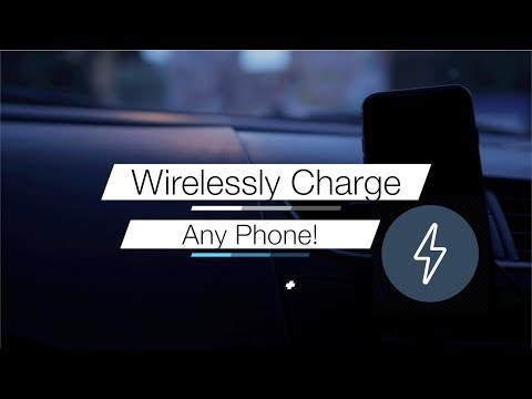 How to Charge any Smartphone Wirelessly Inside a Car 👌🏻