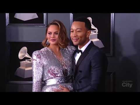 Chrissy Teigen is glowing on the red carpet | City LIVE at the GRAMMYs