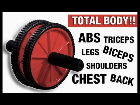 AB WHEEL AB WORKOUT (home workout for your entire body!)