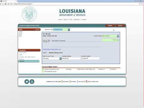 LaTAP Sales Tax Guide