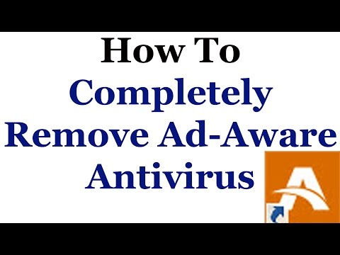 How To Competely Remove Lavasoft Ad-Aware Anti-virus