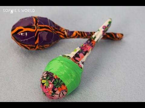 How to Make Maracas from Recycled Plastic Eggs | Sophie's World