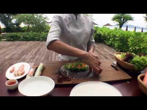 Vietnamese Rice Paper Rolls Video Recipe