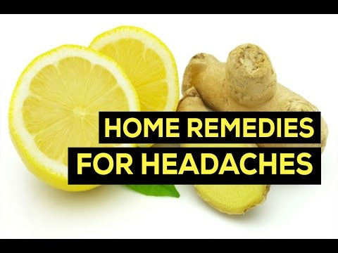Headache Home Remedies In English For Instant Relief Without Medicines - Natural Migraine Remedy