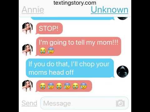 Unknown number texts Annie
