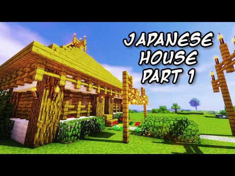 Minecraft Tutorials - Minecraft Tutorial #1 - How to Build a Japanese Themed House 1/2