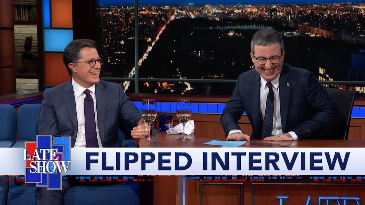 Flipped Interview: John Oliver