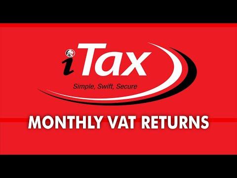 HOW TO FILL MONTHLY VAT TAX RETURNS (https://itax.kra.go.ke)