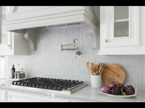 Antique White Herringbone Porcelain Mosaic Tile