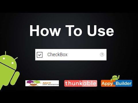 How to use Check Box Component In Thunkable or Appybuilder || Invisible button  || Beginner guide 2